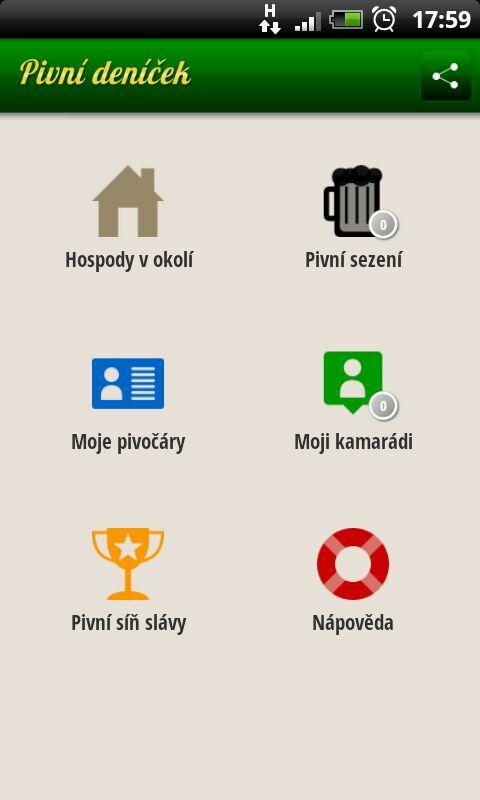 Pivní aplikace pro Androidy