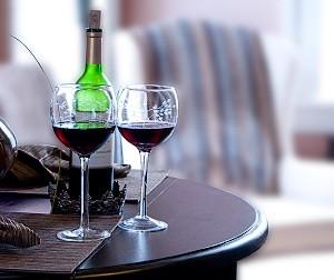 Sladké červené víno