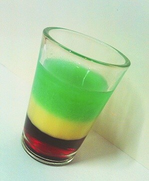 Koktejly ze zelené
