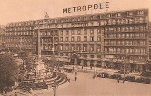 Slavný bruselský hotel Metropole