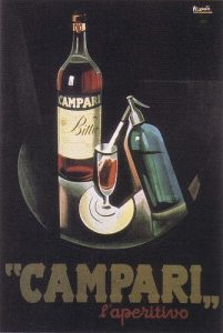 Campari - reklamní plakát