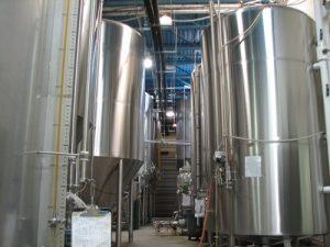 Cylindro-konické tanky pro výrobu piva