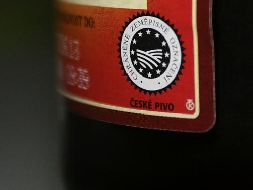 Láhev Českého piva (CHZO)
