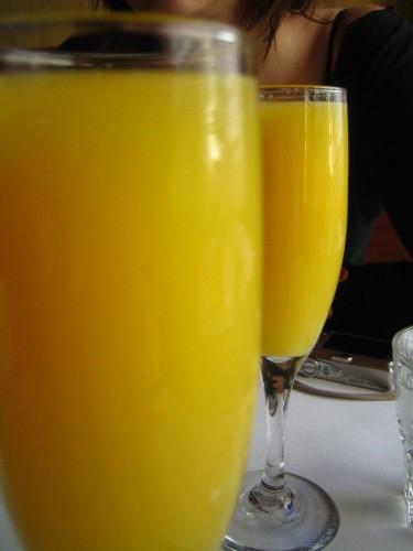 Hotový koktejl Mimosa