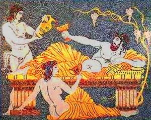 Bůh vína, Dionýsos