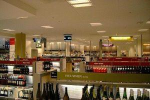 Státem vlastněná samoobsluha na prodej alkoholu ve Švédsku