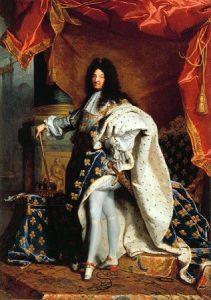 Ludvík XIV. - jeden z nejznámějších příslušníků rodu Bourbonů