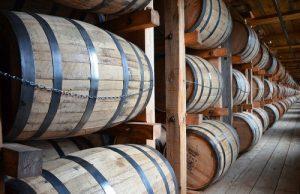 Sudy z bílého dubu, ve kterých zraje bourbon