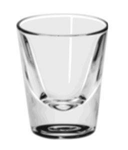 Klasický panák - Shot Glass