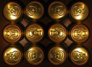 Pivní plechovky