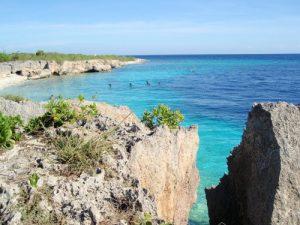 Pláž ostrova Curaçao