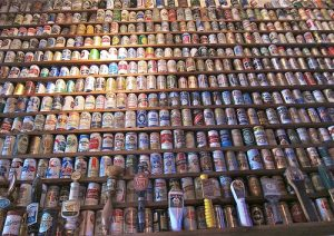 Sbírka pivních plechovek