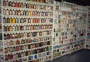 Sbírka plechovek od piva
