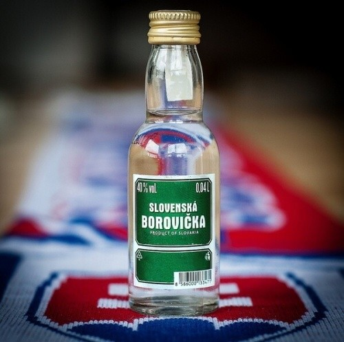 Slovenská borovička symbol Slovenska
