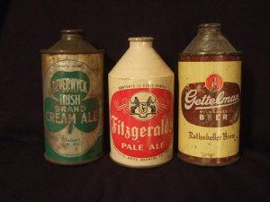 Staré pivní plechovky