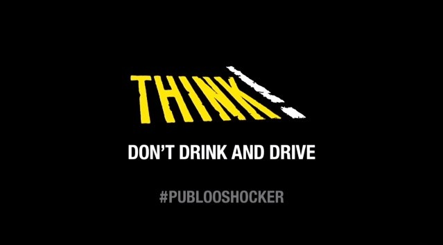 Think! Don't drink and drive