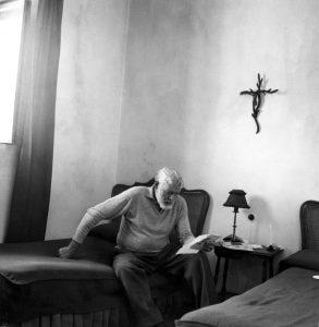 Ernest Hemingway stáří