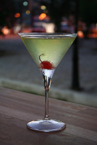 Koktejl Appletini