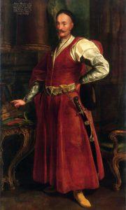 Šlechtic v rudých kontuších