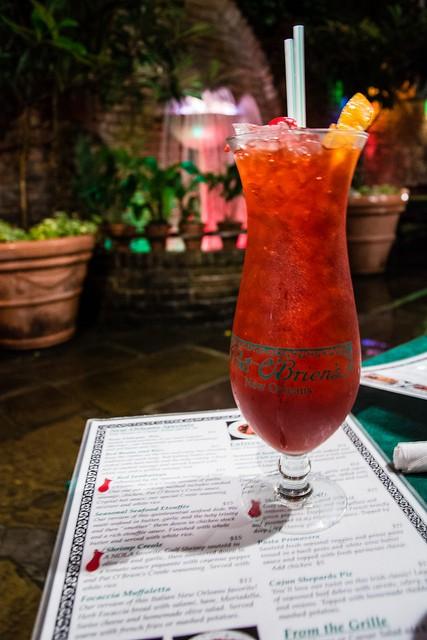 Hurricane v Pat O'Brien's Bar