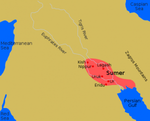 Mapa Sumeru