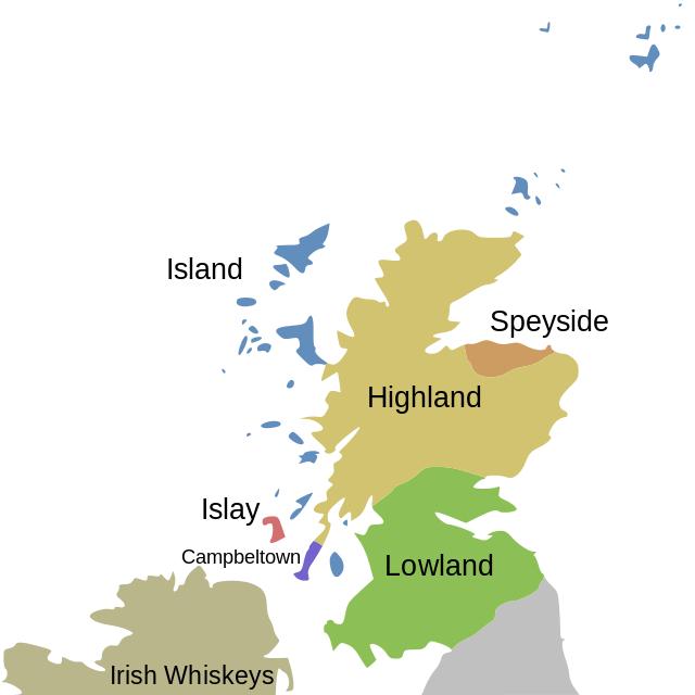 Regiony skotské whisky