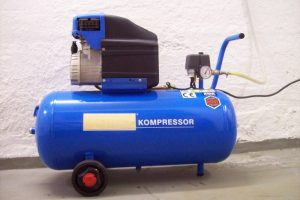 Kompresor - tlačení piva vzduchem