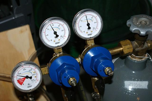 Oxid uhličitý - pivní hnací plyn