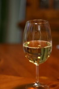 Sklenka vína Tramín