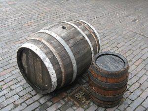 Dřevěné pivní sudy
