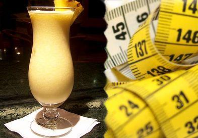 Kalorie v koktejlech