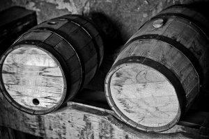 Staré pivní sudy