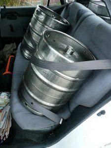 Po převozu pivo pění
