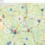 """Mapa českých pivovarů na pivním portálu """"České pivo – České zlato"""""""