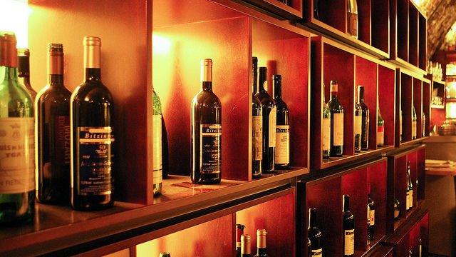 Skříňky na víno