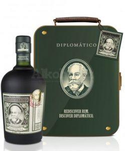 dárek Diplomatico Reserva Exclusiva 12y 0,7l 40% Plech