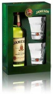 dárek Jameson 0,7l 40% + 2x sklo GB