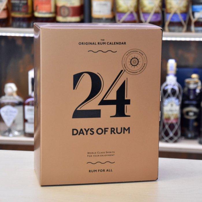Balení rumového kalendáře