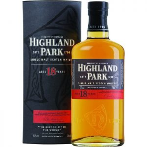 whisky Highland Park 18yo