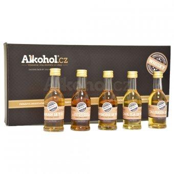 Degustační sada 18leté whisky