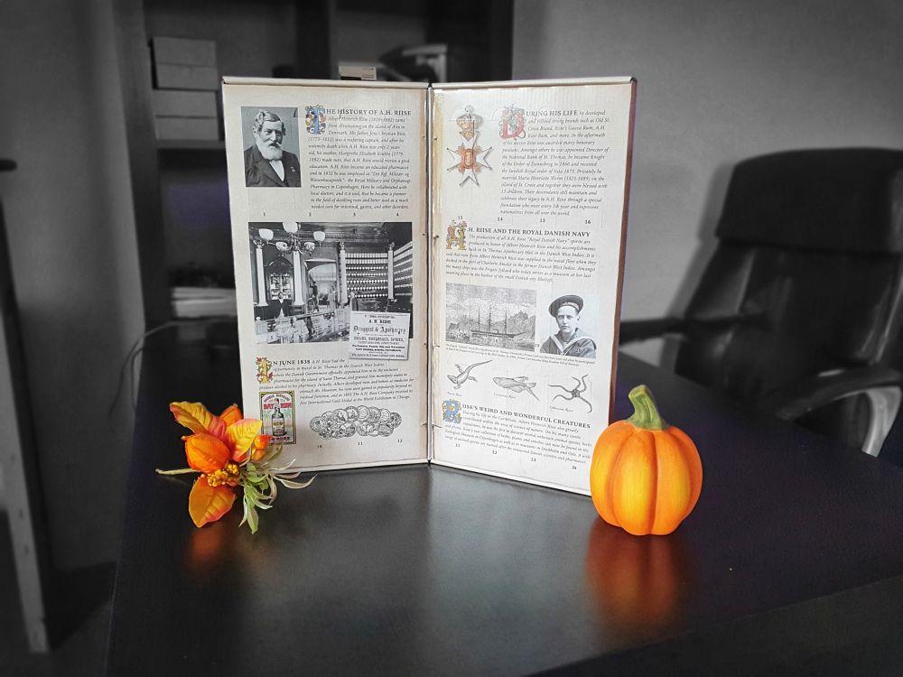 Rumový adventní kalendář A.H.Riise
