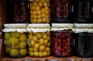 Kompotované ovoce - domácí