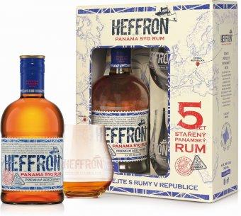 Heffron Panama Rum darkove baleni