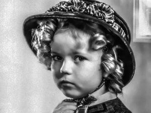 Herečka Shirley Temple